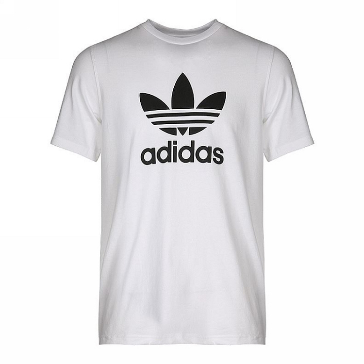 Adidas 三叶草 男装 短袖T恤 TREFOIL T-SHIRT 三叶草 CW0710