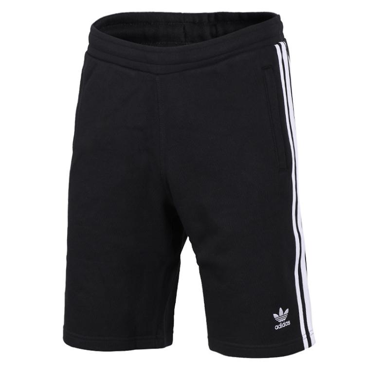 Adidas 三叶草 男装 短裤 3-STRIPES SHORT 三叶草 CW2980