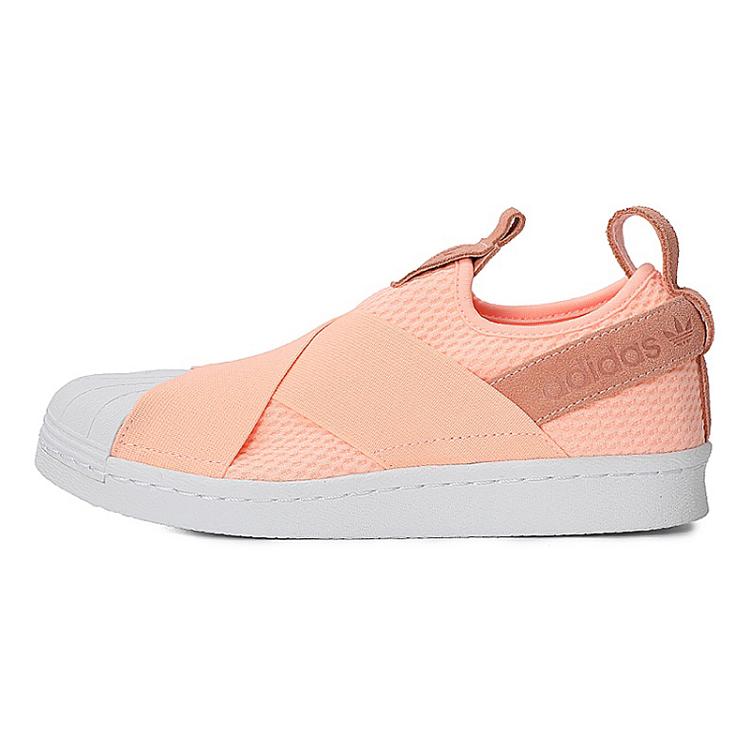 new products 01115 06bfb Adidas 三叶草女鞋经典鞋Superstar Slip On W 三叶草AQ0919 ...