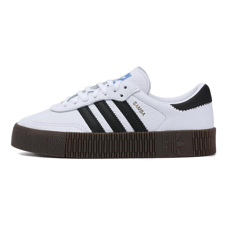 Adidas 三叶草 女鞋 经典鞋 SAMBAROSE W 三叶草 AQ1134