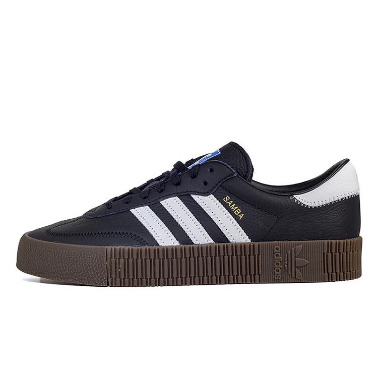 Adidas 三叶草 女鞋 经典鞋 SAMBAROSE W 三叶草 B28156
