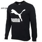 Puma 彪马 男装 休闲 针织卫衣 Classics Logo Crew 生活 57906901