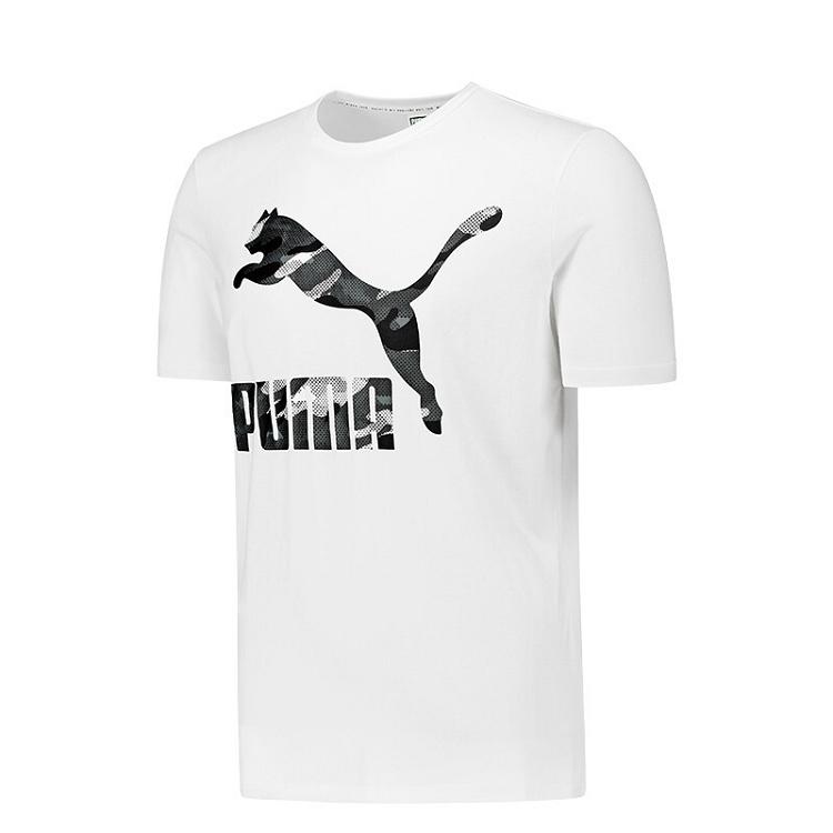 Puma 彪马 男装 休闲 短袖T恤 Classics Logo Tee 生活 57940562