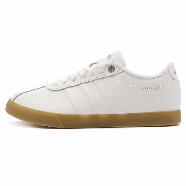 Adidas 阿迪达斯 女鞋 网球 网球鞋 COURTSET F35772