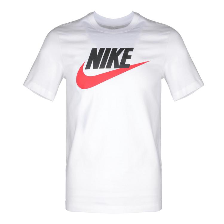 Nike 耐克 男装 休闲 短袖针织衫 运动生活 AR5005-100