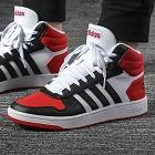 Adidas NEO 阿迪休闲 男鞋 休闲鞋 HOOPS 2.0 MID 运动休闲 FV2730