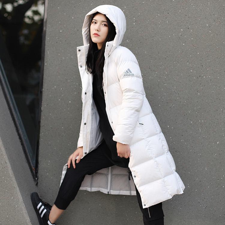 Adidas 阿迪达斯 女装 羽绒服 羽绒服 W LONG DOWN PK EH3986