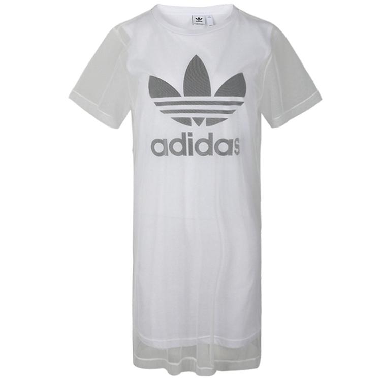 Adidas 三叶草 女装 裙子 TEE DRESS 三叶草 FL0034