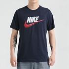 Nike 耐克 男装 休闲 短袖针织衫 运动生活 AR4994-452