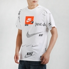 Nike 耐克 男装 休闲 短袖针织衫 运动生活 CW0378-100