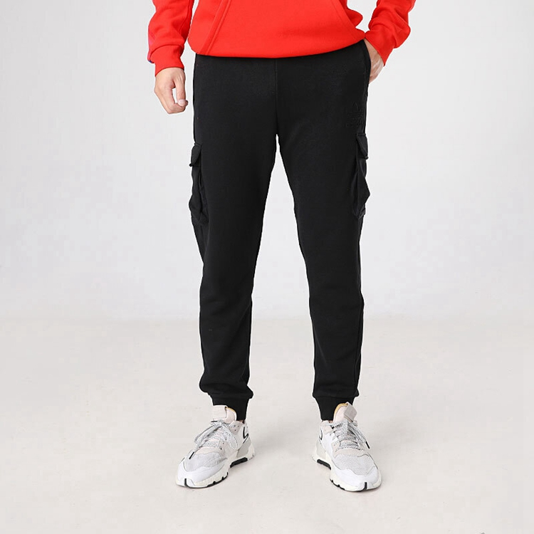 Adidas 三叶草 男装 运动裤 Embossed Pant 三叶草 GT7287